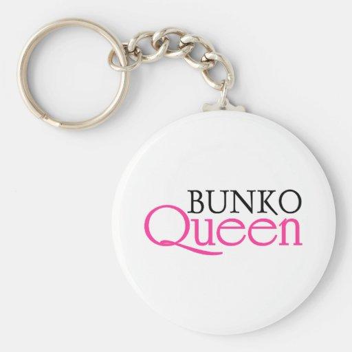Bunko Queen Keychain