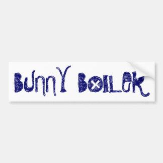 """Bunny Boiler"" Bumper Sticker"
