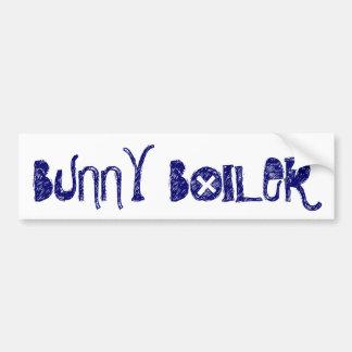 """Bunny Boiler"" Bumper Sticker Car Bumper Sticker"
