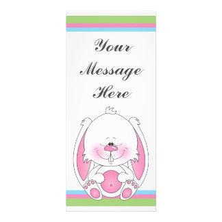 Bunny Cartoon Rack Card