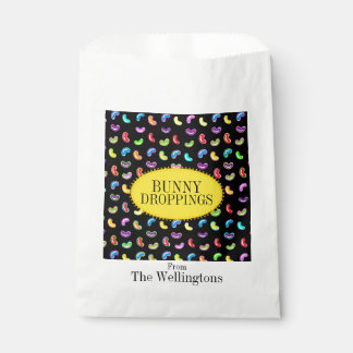 Bunny Droppings Jelly Beans Favor Bags Favour Bags
