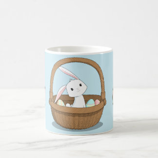 Bunny in a Basket Easter Mug