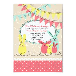 Bunny's Celebration Easter Invitation