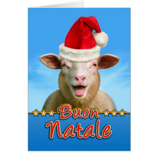 Buon Natale Card