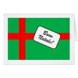 Buon Natale in Italiano Card