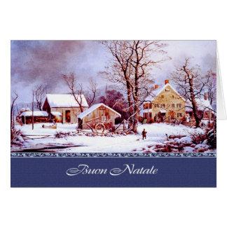 Buon Natale.Italian Christmas Greeting Cards