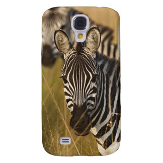 Burchell's Zebra in tall summer grass, Masai Galaxy S4 Case
