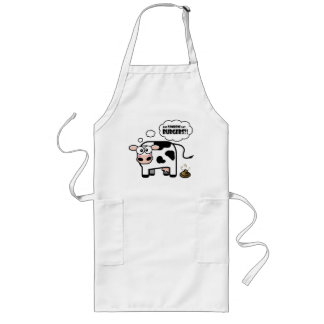Burgers?! Funny Cow Apron