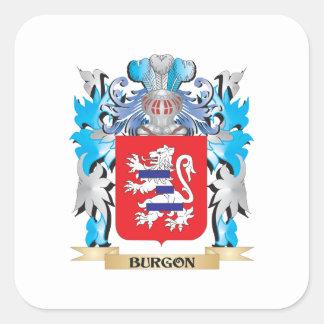 Burgon Coat of Arms Sticker