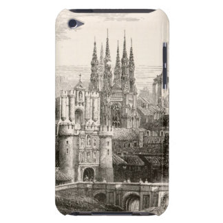 Burgos Cathedral Spain Castle Gothic Spire Vintage iPod Touch Case-Mate Case