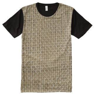 Burlap All-Over Print T-Shirt