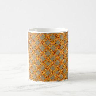 BURLAP-AND-BAMBOO COFFEE MUG