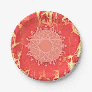Burn it 7 inch paper plate