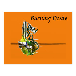 Burning Desire Postcard