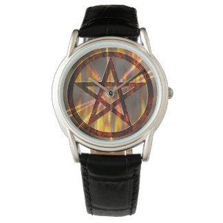 Burning Pentagram Watch