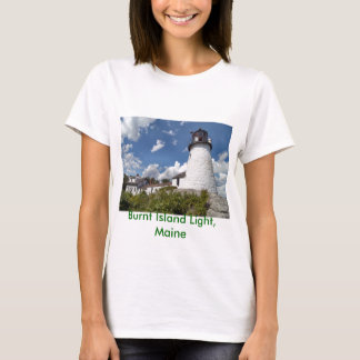 Burnt Island Light, Maine T-Shirt