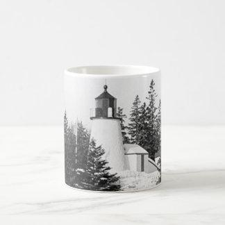 Burnt Island Lighthouse Coffee Mug