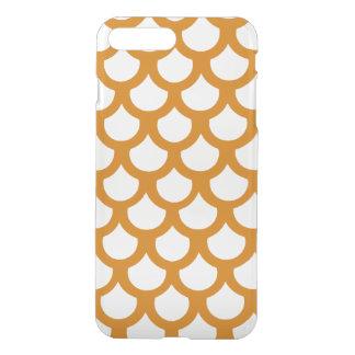 Burnt Orange Fish Scale 1 iPhone 7 Plus Case