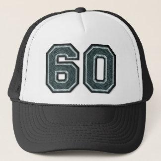 Burnt Teal Number 60 Trucker Hat