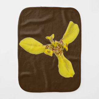 Burp Cloth - Tiger Eye Iris