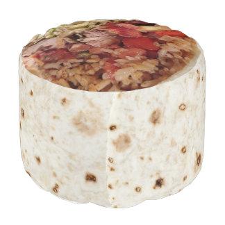 Burrito Pouf Cushion