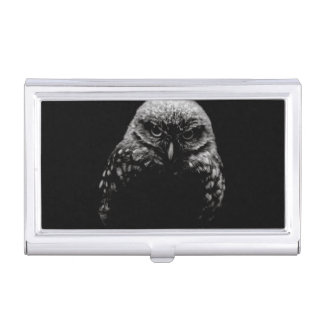 'Burrowing Owl' Business Card Holder