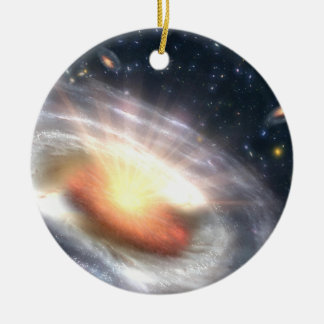 Bursting Black Hole Christmas Ornament