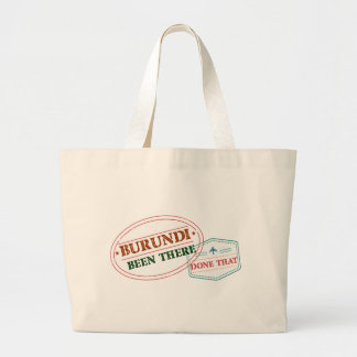 Burundi Been There Done That Large Tote Bag