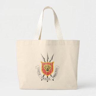 Burundi Coat Of Arms Large Tote Bag