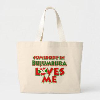 Burundi  Design Large Tote Bag