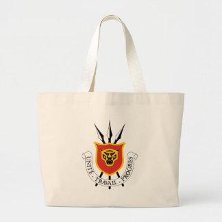 burundi emblem large tote bag