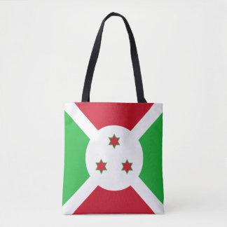 Burundi Flag Tote Bag