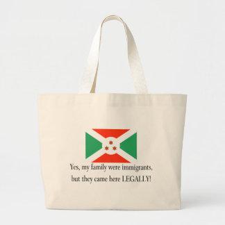 Burundi Large Tote Bag