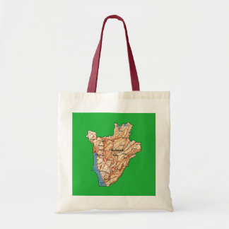 Burundi Map Bag