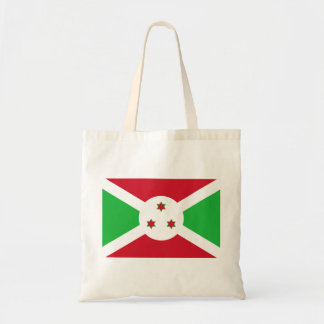 Burundi National World Flag Tote Bag