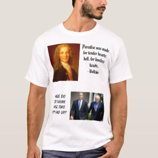 bush-cheney, Bush will send our troops to iraq,... T-Shirt