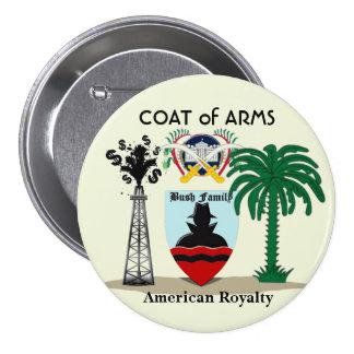 Bush Family: American Royalty 7.5 Cm Round Badge