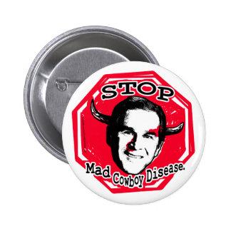 Bush Horns Button