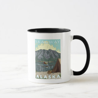 Bush Plane & Fishing - Skagway, Alaska Mug