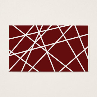 "Business, 3.5"" x 2.0"", 100 pack WHITE ABSTRACT LIN Business Card"