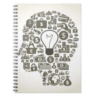 Business a head notebook