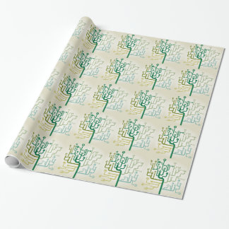 Business a labyrinth wrapping paper