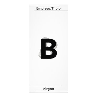 Business - B - Airgan Rack Card