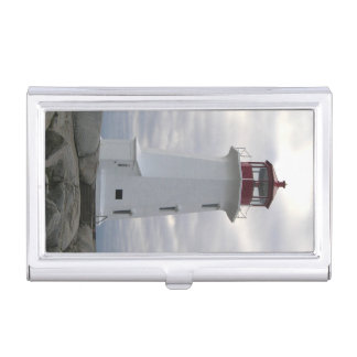 Business card holder Peggy's Cove  Lighthouse