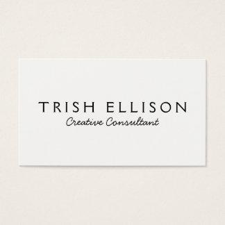 Business Card Minimalist Custom Template Plain