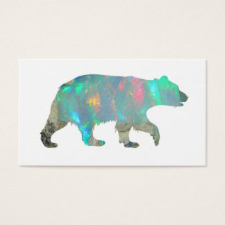 BUSINESS CARD - Opal Bear