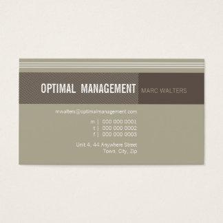 BUSINESS CARD :: optimal designer 4