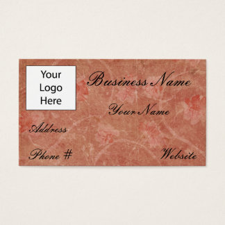 1000 vintage flower design business cards and vintage flower business cards vintage flower design reheart Choice Image