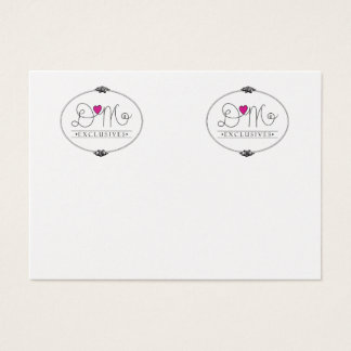 Business Earring Cards