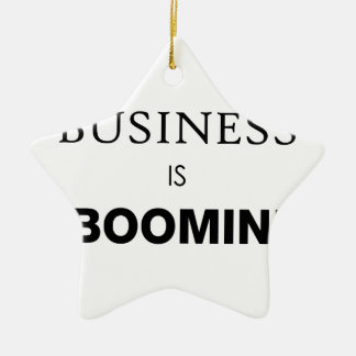 Business is Boomin.png Christmas Ornament
